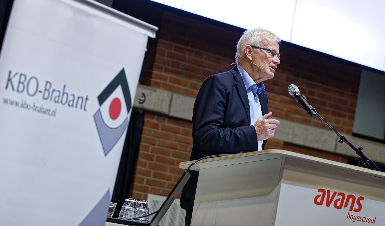 Leo Bisschops, voorzitter KBO Brabant.