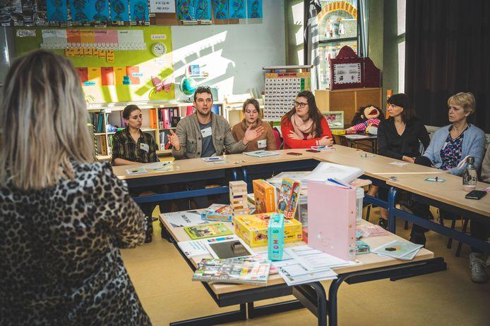 De gezamenlijke pedagogische studiedag vond plaats in basisschool Gentbrugge.
