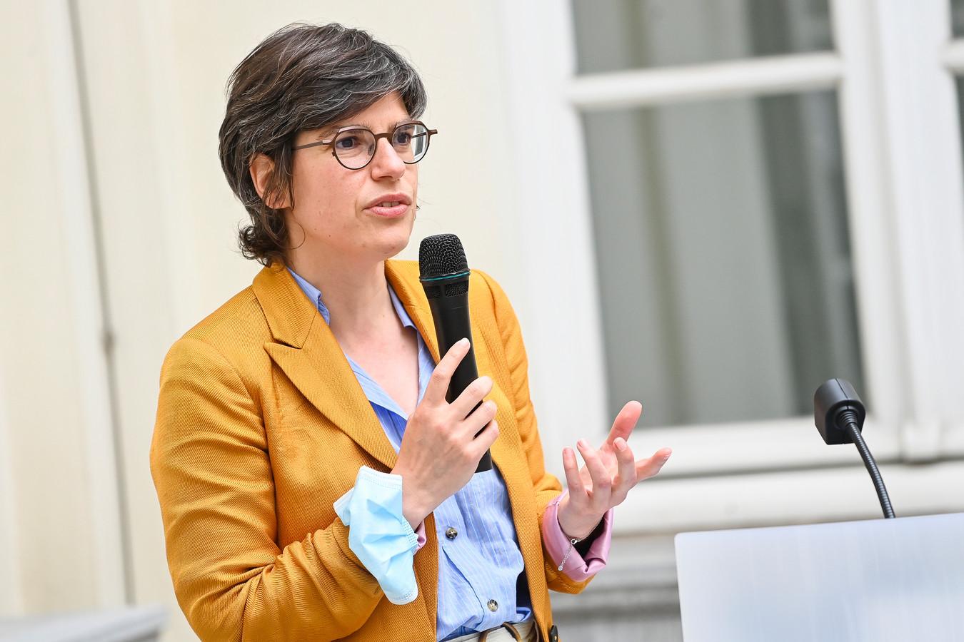 Minister van Energie Tinne Van der Straeten.