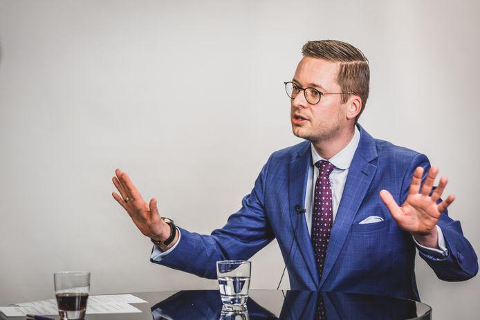 Vlaams Belang-fractieleider Wouter Vermeersch