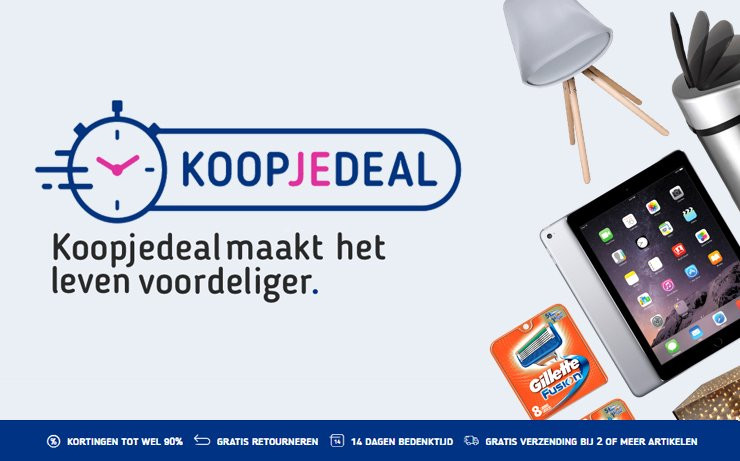 Screenshot van Koopjedeal.nl