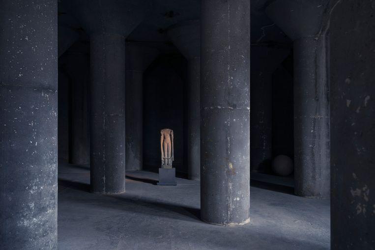 De galerie op de Kanaalsite. Beeld Tim Coppens