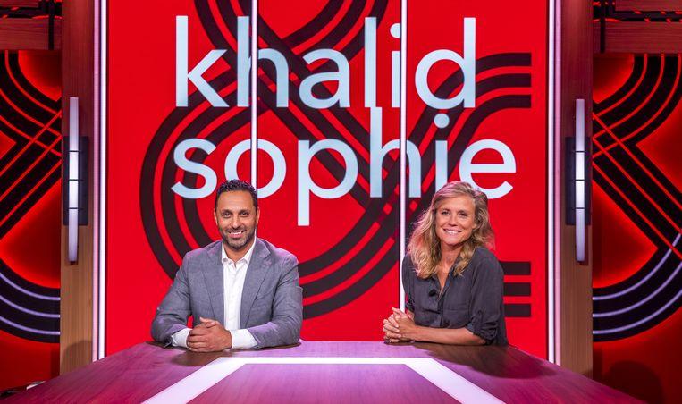 Khalid Kasem en Sophie Hilbrand. Beeld ANP
