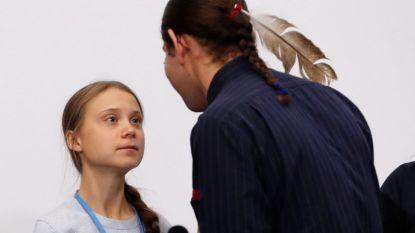 """Thunberg: """"Kijk niet alleen naar mij, focus op de kinderen die nu al getroffen worden door klimaatverandering"""""""