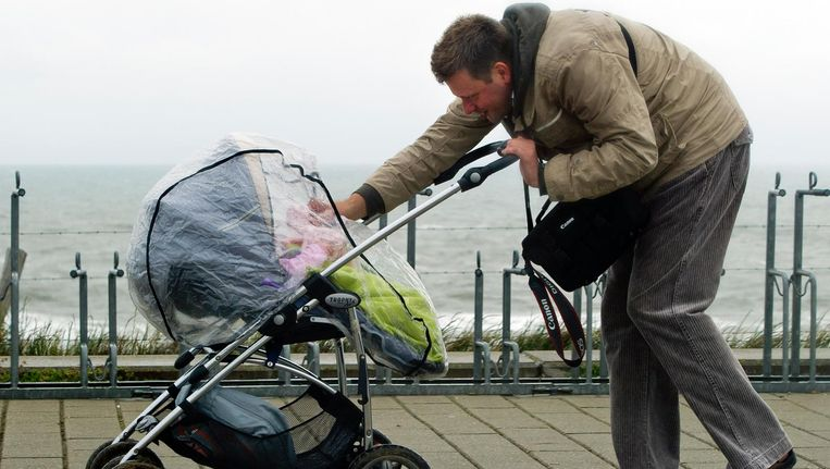 Vader en kind Beeld null