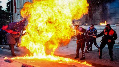 Opnieuw gewelddadig protest tegen regering in Albanië