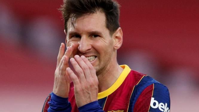 'Messi levert 50 procent van zijn salaris in en tekent contract voor vijf jaar bij Barcelona'