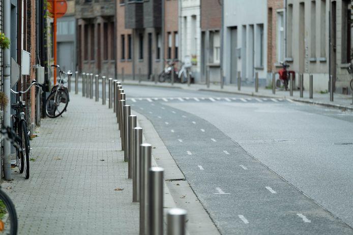 Het fietspad in de Lange Nieuwstraat moet worden heraangelegd