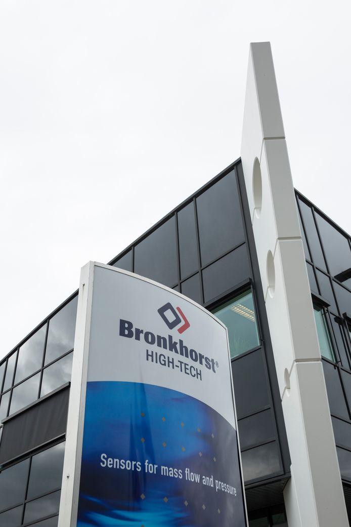 Bronkhorst Hightech uit Ruurlo is een van de bedrijven die Europees en provincaal geld ontvangt.