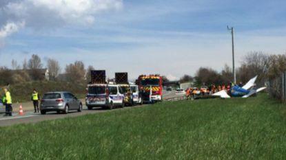 2 doden bij crash sportvliegtuig Franse autosnelweg