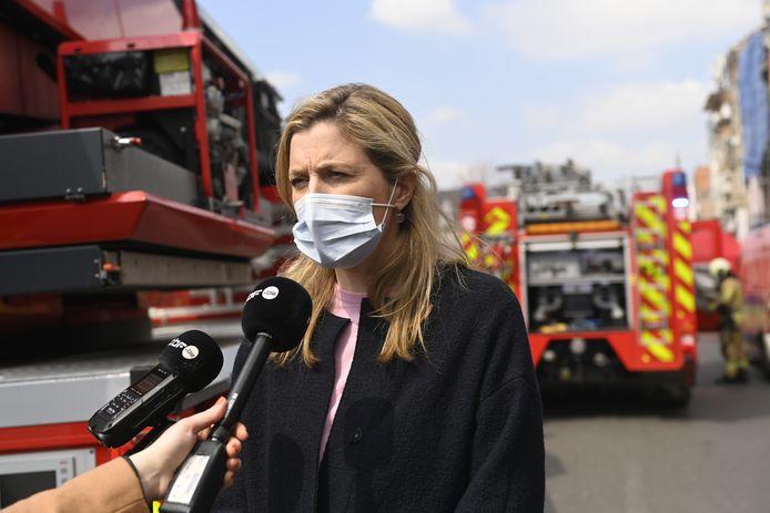 Annelies Verlinden, la ministre de l'Intérieur