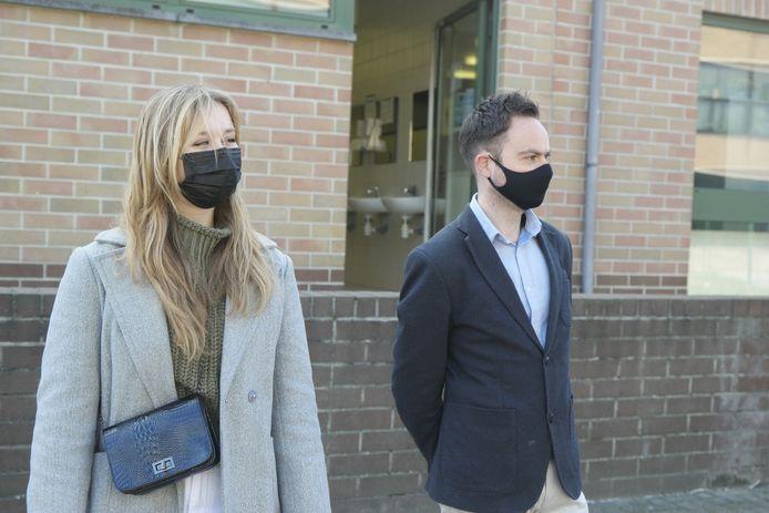 Thijs Smeyers en Lorelijn Slegers deden onderzoek naar de problematiek.