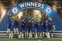 Chelsea viert feest.