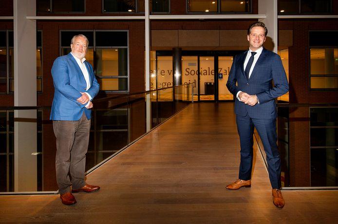 Van Dissel (links) en De Jonge.