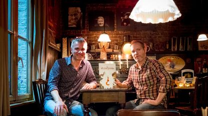 Schrijver en illustrator maken samen 'Vossenstreken'