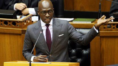 Zuid-Afrikaanse minister stapt op nadat sekstape uitlekt in media