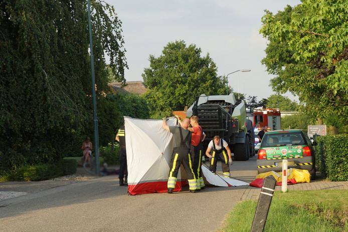 Fietser overleden bij ongeluk in Heesbeen.
