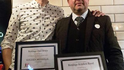 Twee gouden awards voor brouwerij Vandewalle