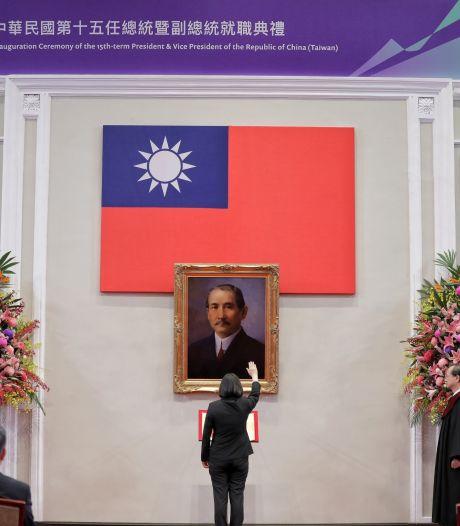 "La Chine ""ne tolérera jamais"" l'indépendance de Taiwan"