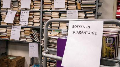 20.000 uitgeleende titels van bib Knokke-Heist kunnentot 30 juniboetevrijingeleverd worden