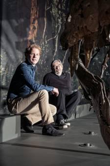 Van Rossem en Rademaker vinden elkaar in passie voor dinosauriërs: 'De T-Rex krijgt altijd alle aandacht'