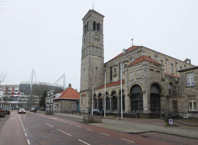 De Steentjeskerk aan de Sint-Antoniusstraat in Eindhoven