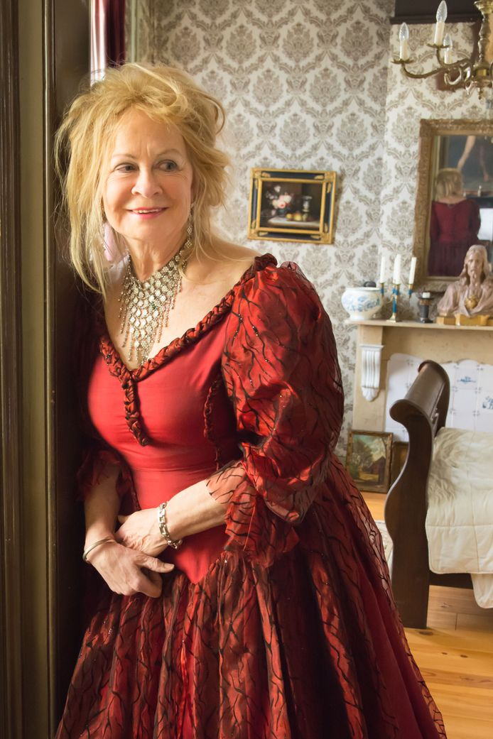 Ellen Deelen van d'Engelenburgh in Fijnaart.