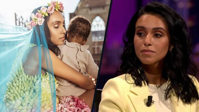 """Nora Gharib wil geen foto's van dochtertje Chams op social media: """"Ik wil haar zelf kunnen vragen of ze dat oké vindt"""""""