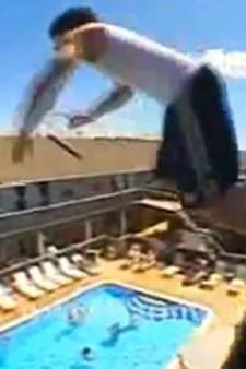 """La """"compétition"""" sinistre du saut de balcon"""