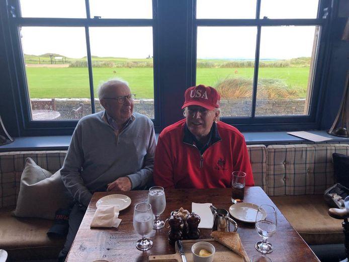 Burgemeester Lippens en president Trump sloegen een praatje