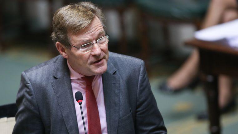 Financiënminister Johan Van Overtveldt (N-VA). Beeld BELGA