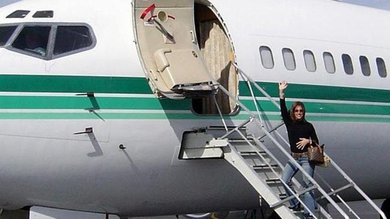 Corso charterde een vliegtuig om naar Mexico te gaan voor de 40ste verjaardag van haar echtgenoot. Beeld kos