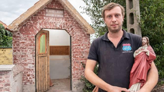 """Joshua verbouwt kapel uit dank voor onwaarschijnlijke genezing van broer na ongeval: """"En nu gaan we er ook anderen mee helpen"""""""