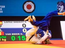 Charline Van Snick décroche le bronze en -52 kg