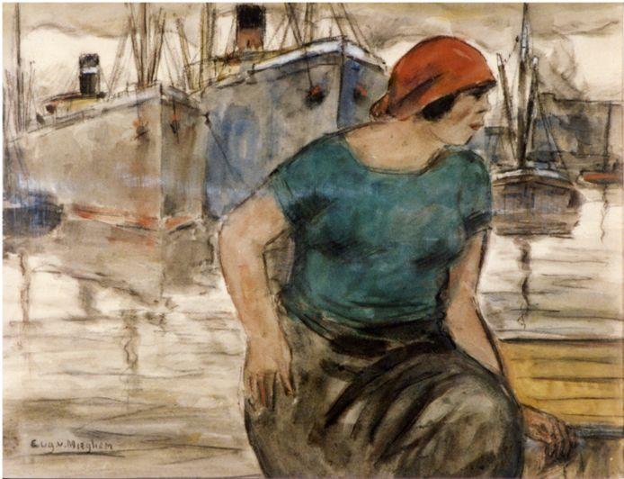 Tijdens zijn leven kreeg Van Mieghem als artiest weinig erkenning, maar vandaag is hij bekend voor het in beeld brengen van gewone mensen en emigranten in de Antwerpse haven.