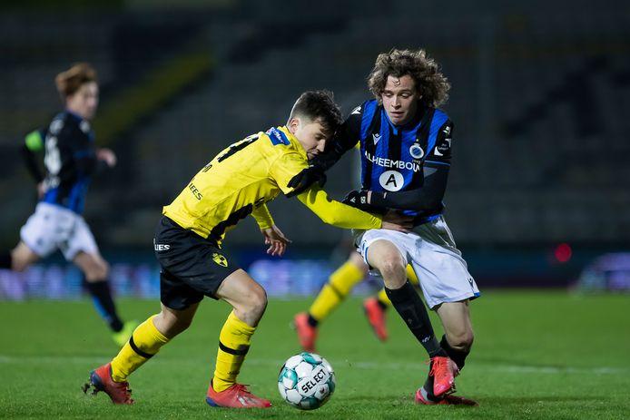 Emile Samyn (l.) ruilt na dit seizoen Lierse Kempenzonen voor eerstenationaler Royal Knokke FC.