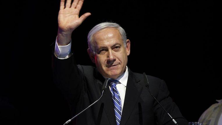 De premier van Israël Benjamin Netanyahu. Beeld REUTERS