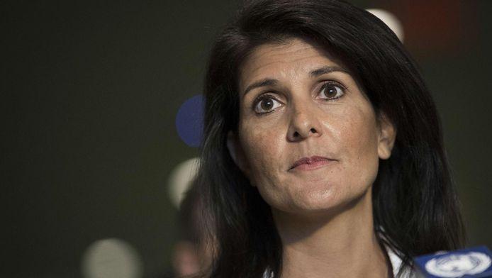 L'ambassadrice des Etats-Unis à l'ONU Nikki Haley.