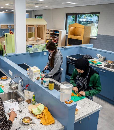 Weg met de hokjes, het nieuwe Zorg en Welzijn-paviljoen van vmbo Doregraaf is fris en transparant