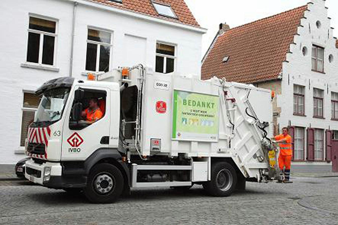Een Bruggeling gooide vorig jaar eieren naar een vuilnisman. (illustratiebeeld)