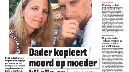 Dader kopieert moord op moeder bij zijn ex