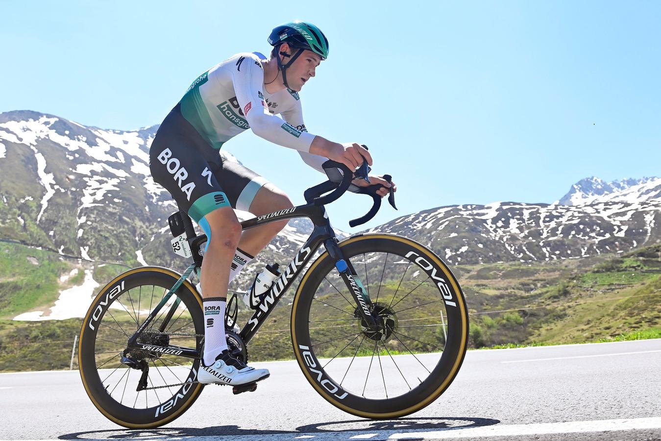 Jordi Meeus reed dit seizoen al zes rittenkoersen, onder meer de Ronde van Zwitserland.