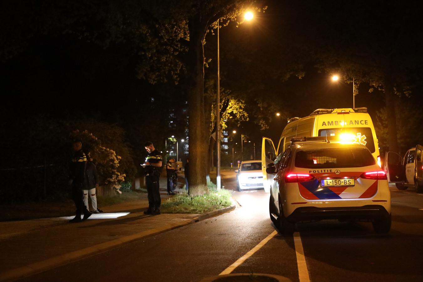 De politie nam verklaringen op van mogelijke getuigen.