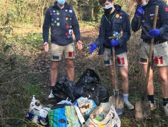 """Heistse Chirojongens zijn afval in bos beu: """"Ga gewoon naar containerpark"""""""