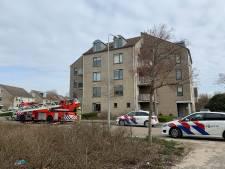 Gewonde bij brand in flat Middelburg