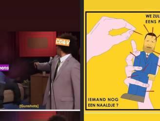 Gekibbel tussen PS en CD&V: #MagNjet en memes
