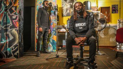 """Ndongala naast profvoetballer ook eigen muzieklabel: """"Ik zing ook, maar ik ben meer de 'animateur'"""""""