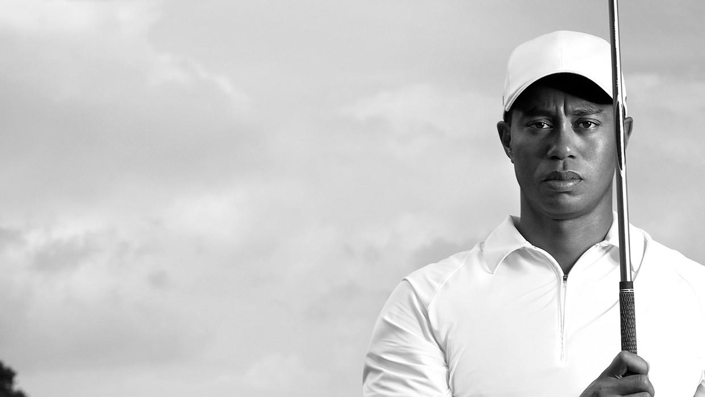 Golficoon Tiger Woods. Beeld Streamz