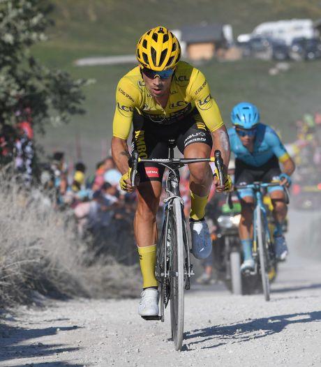 Roglic nog steeds stevig in geel: 'Zware dagen, maar de ploeg heeft geweldig werk geleverd'