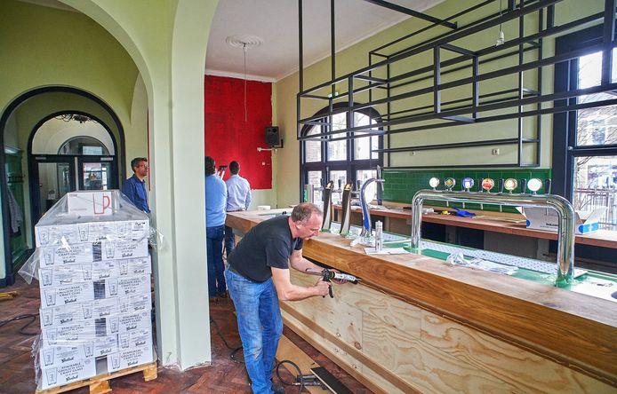 De brasserie, die vorig jaar nog helemaal is opgeknapt, krijgt een andere bestemming.